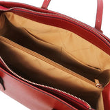TL Saffiano Leather  Work Tote _4