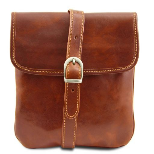 Joe Vegetable Tanned Leather Crossbody Bag _6