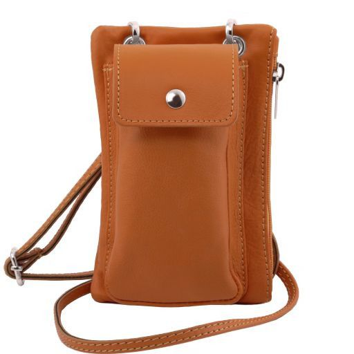 TL Soft Leather Phone Pouch Mini Cross Bag_12