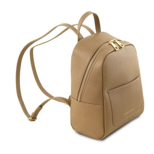 TL Small Saffiano Leather Backpack For Women_7