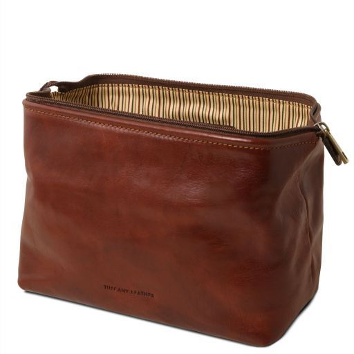 Smarty - Leather toilet bag - Large size_3