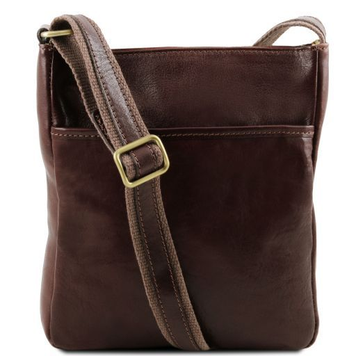 Jason Vegetable Tanned Leather Messenger Bag for Men_10