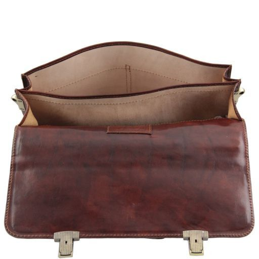 Bolgheri Vegetable Tanned Leather Briefcase_4