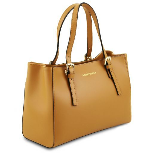 Aura Smooth Leather Satchel_4