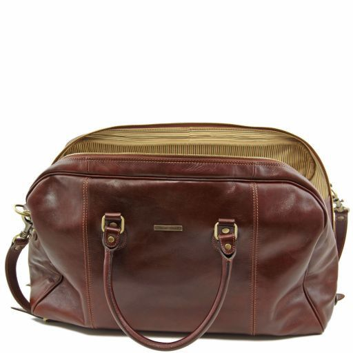 TL Voyager - Travel leather duffle bag_5