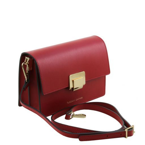 Adele Smooth Leather Clutch_3