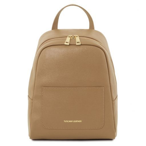 TL Small Saffiano Leather Backpack For Women_6