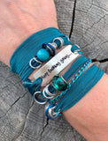 Motivational Wrap Bracelet