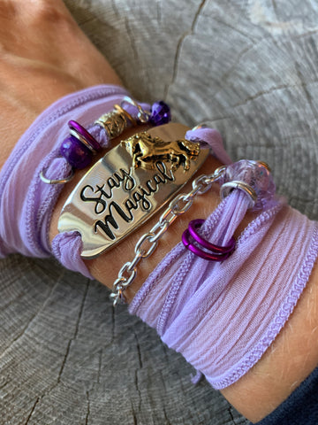 Unicorn Wrap Bracelet