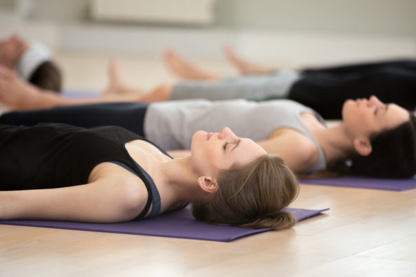 yoga nidra contre le stress