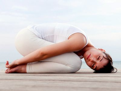 Position de Yin Yoga