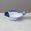 Arabesque Blue/White Fish Bowl