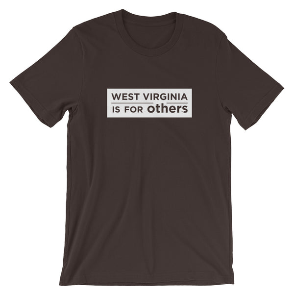 WVIFO White Label T-Shirt - West Virginia Is For Others