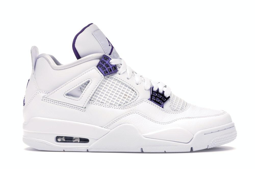 Jordan 4 Retro Metallic Purple