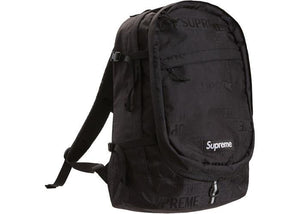 Supreme Backpack (SS19) Black