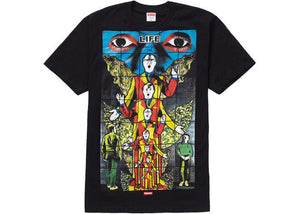 Supreme Gilbert & George LIFE Tee Black