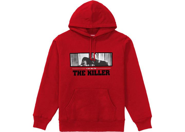 Supreme The Killer Hooded Sweatshirt Red