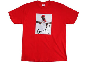 Supreme Gucci Mane Tee Red