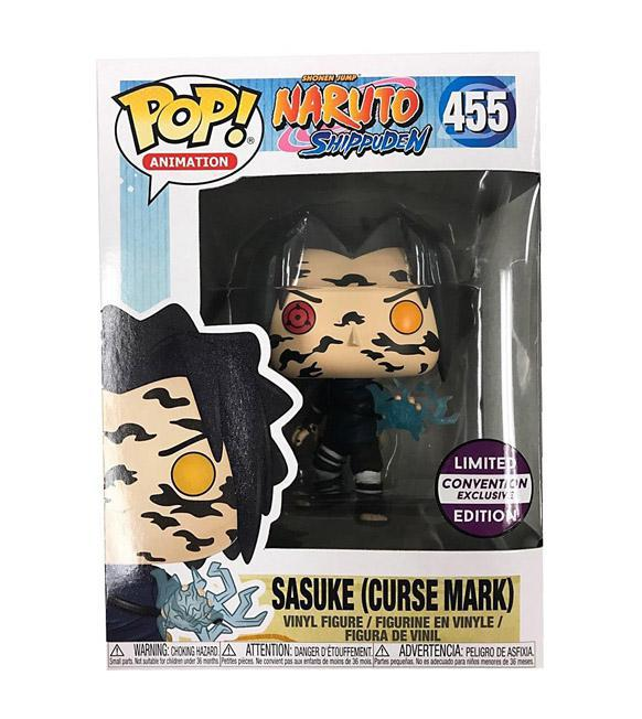 Funko Pop! Animation Naruto Sasuke (Curse Mark) Limited Edition Convention exclusive