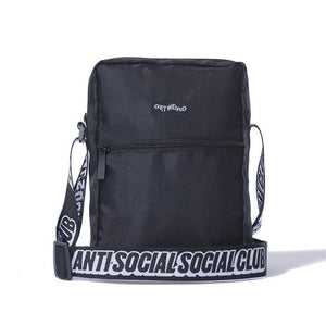Antisocial Social Club Side Bag Black