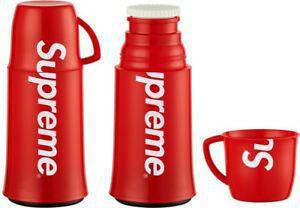 FW14 Supreme x Helios Thermos Brand New Box Logo Bogo Cup