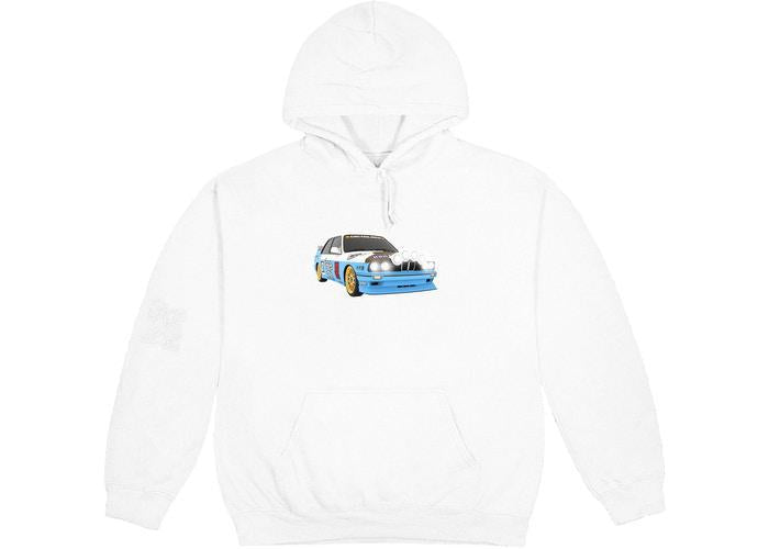 Travis Scott JACKBOYS Vehicle Hoodie White