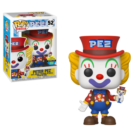 2019 SDCC Funko POP! Ad Icons PEZ: Peter Pez Toy Tokyo Exclusive Vinyl Figure