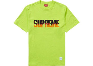 Supreme Flames S/S Top Bright Green