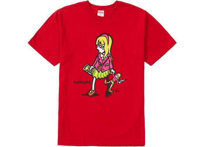 Supreme Suzie Switchblade Tee Red