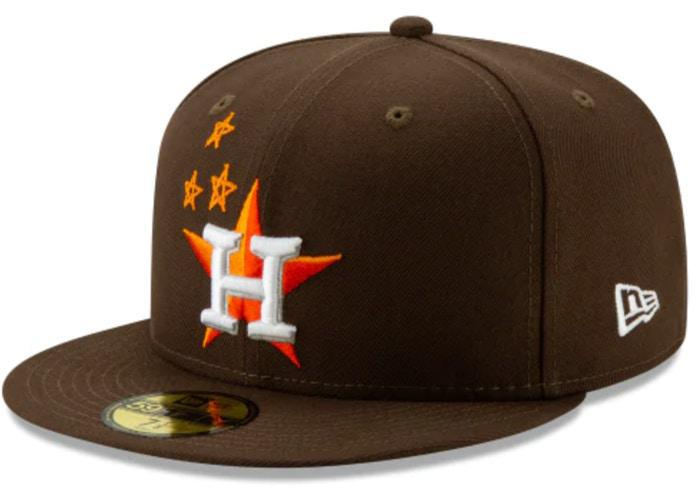 Travis Scott x Houston Astros 59Fifty Fitted Brown