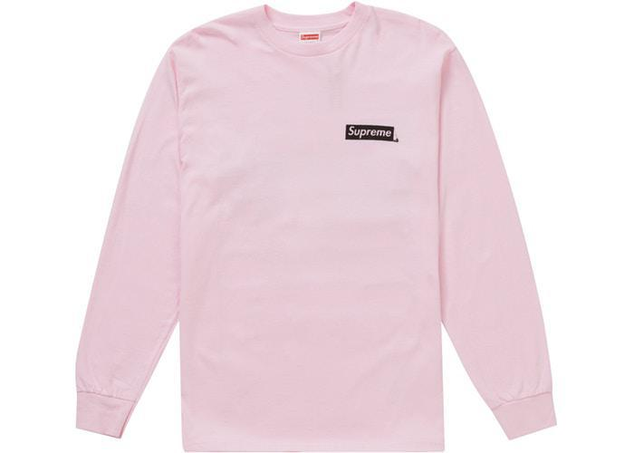 Supreme Sacred Unique L/S Tee Light Pink