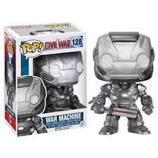 Civil War War Machine POP! Vinyl Bobble Head