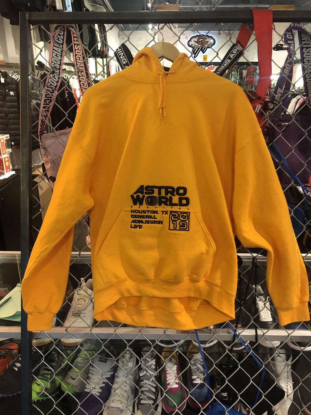 AstroWorld Festival Hoodie Yellow
