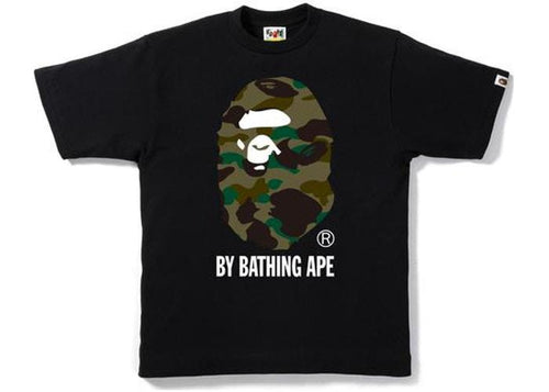BAPE 1st Camo by Bathing Tee Black/Green