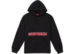 Supreme Blockbuster Hooded Sweatshirt Black