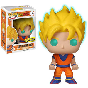 Funko Super Saiyan Goku [Glow-in-Dark] (EE Exclusive): Dragonball Z x POP!