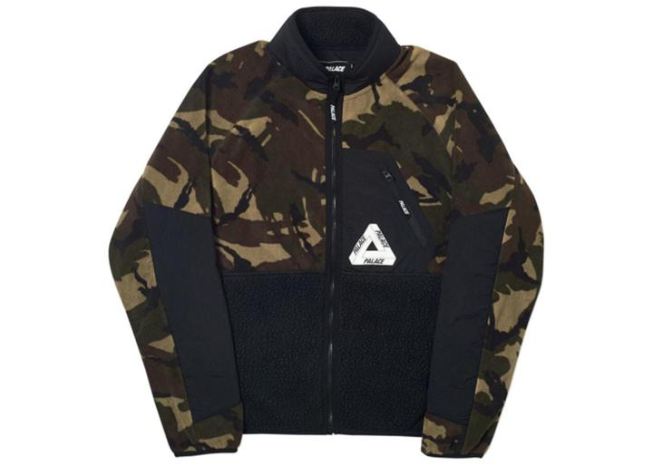 Palace P-Surgent Polartec Fleece Jacket  DPM