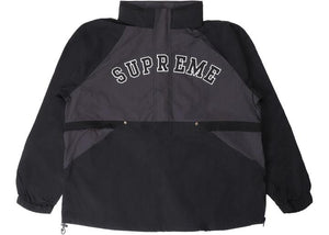 Supreme Court Half Zip Pullover Black