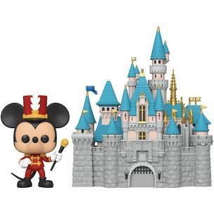 SLEEPING BEAUTY CASTLE & MICKEY MOUSE