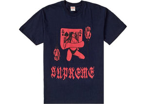 Supreme Queen Tee Navy