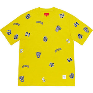 Supreme University S/S Top (SS20) Bright Yellow