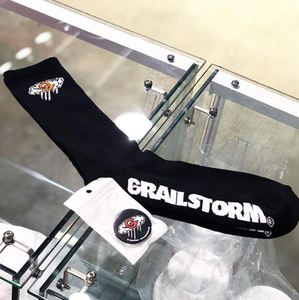 Black Grail Storm socks