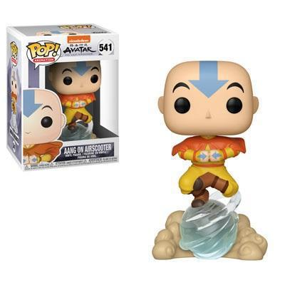 Funko Avatar The Last Airbender Pop! Aang On Airscooter Vinyl Figure Hot Topic Exclusive