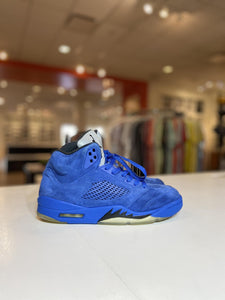 Jordan 5 Retro Blue Suede (Pre - Owned)
