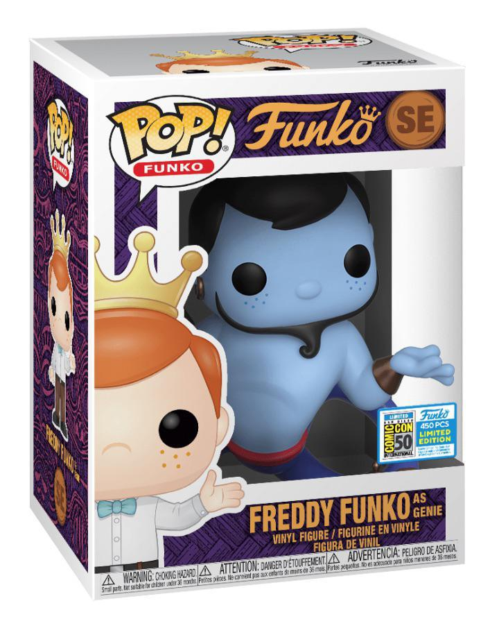 Freddy Funko as Genie
