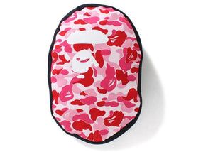 BAPE ABC Ape Head Cushion Pink
