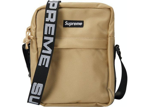 Supreme Shoulder Bag (SS18) Tan Preowned