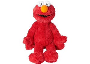 KAWS Sesame Street Uniqlo Elmo Plush Toy Red