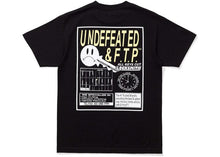 Load image into Gallery viewer, FTP x Undefeated Key Tee Black