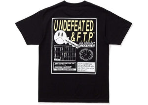 FTP x Undefeated Key Tee Black